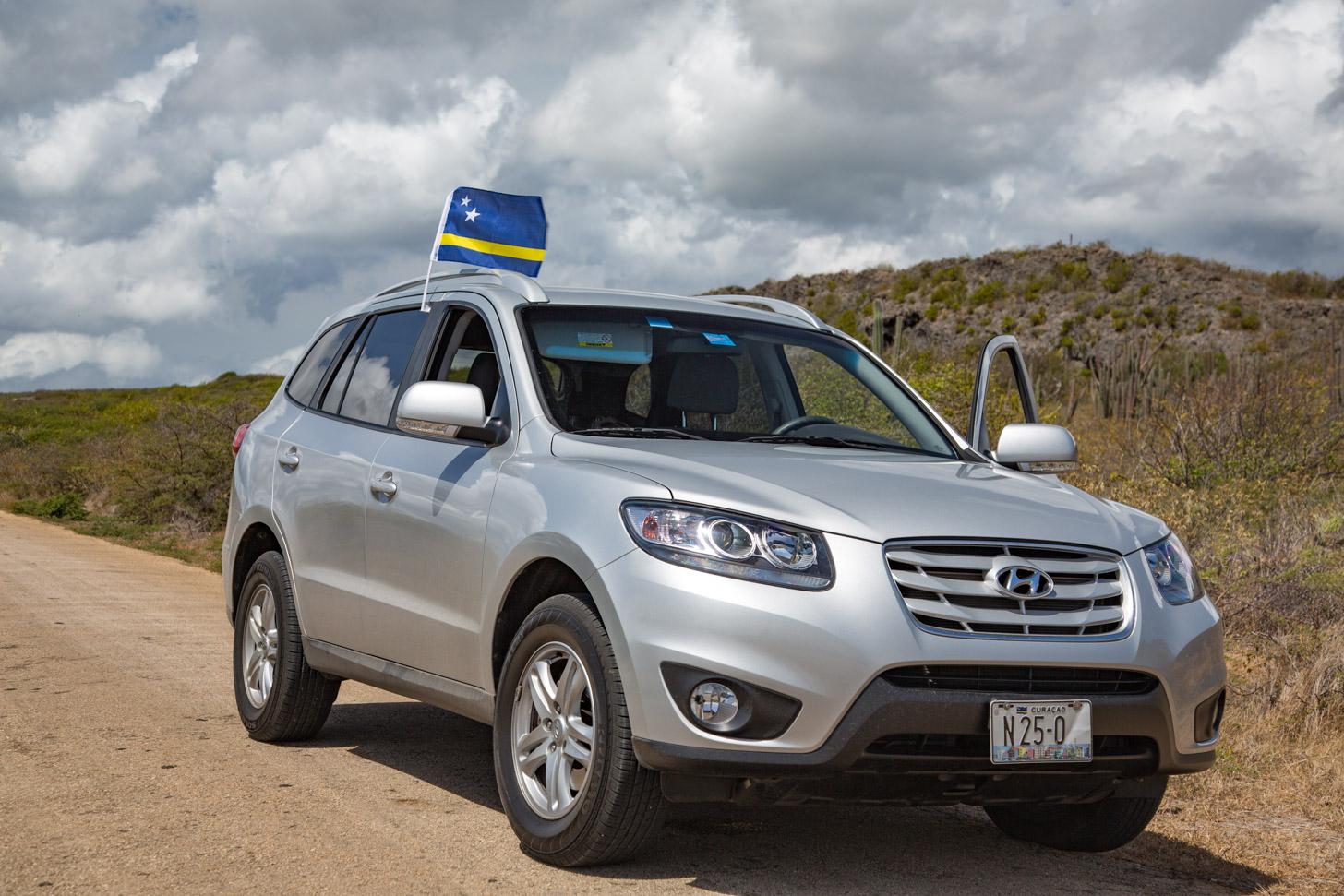 Een SUV is een uitstekende huurauto om Curacao te verkennen