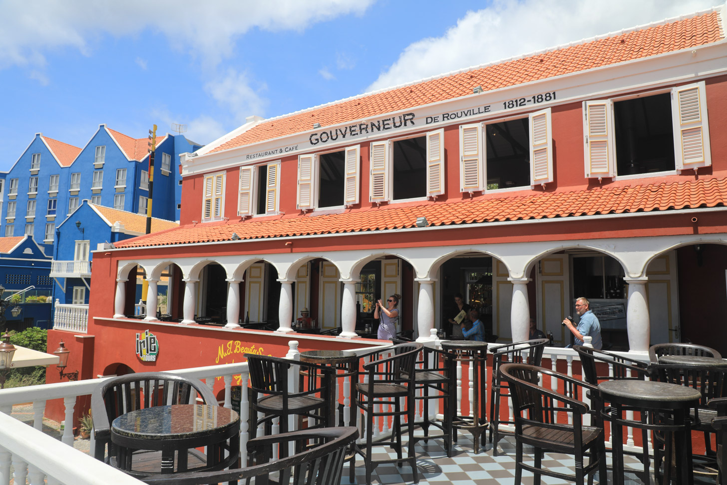 Restaurant De Gouverneur in Willemstad