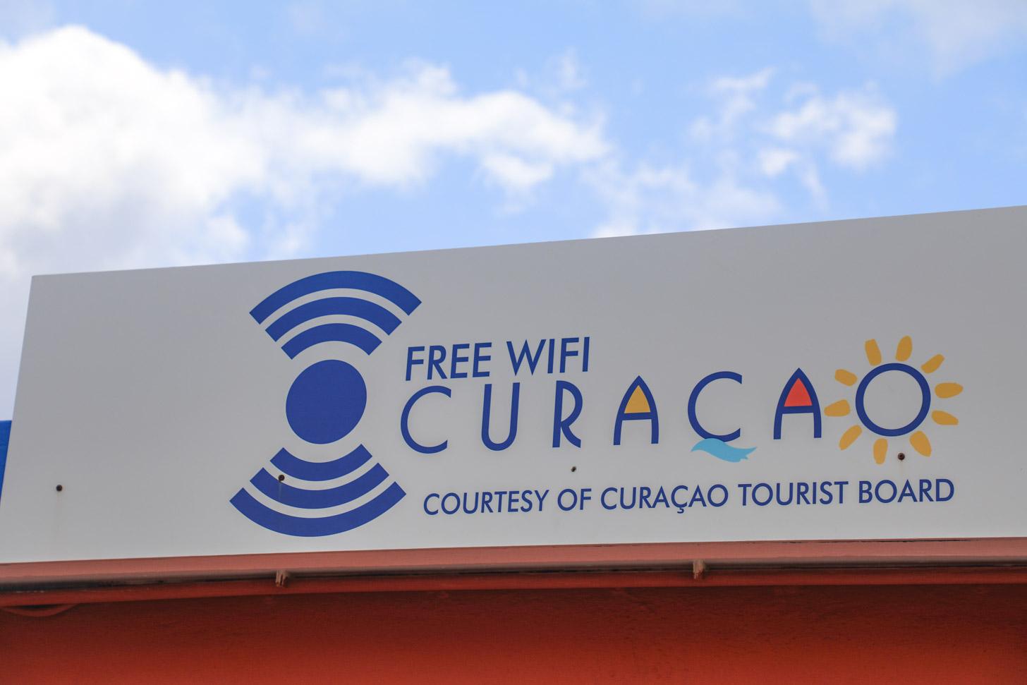 Gratis wifi op Curacao