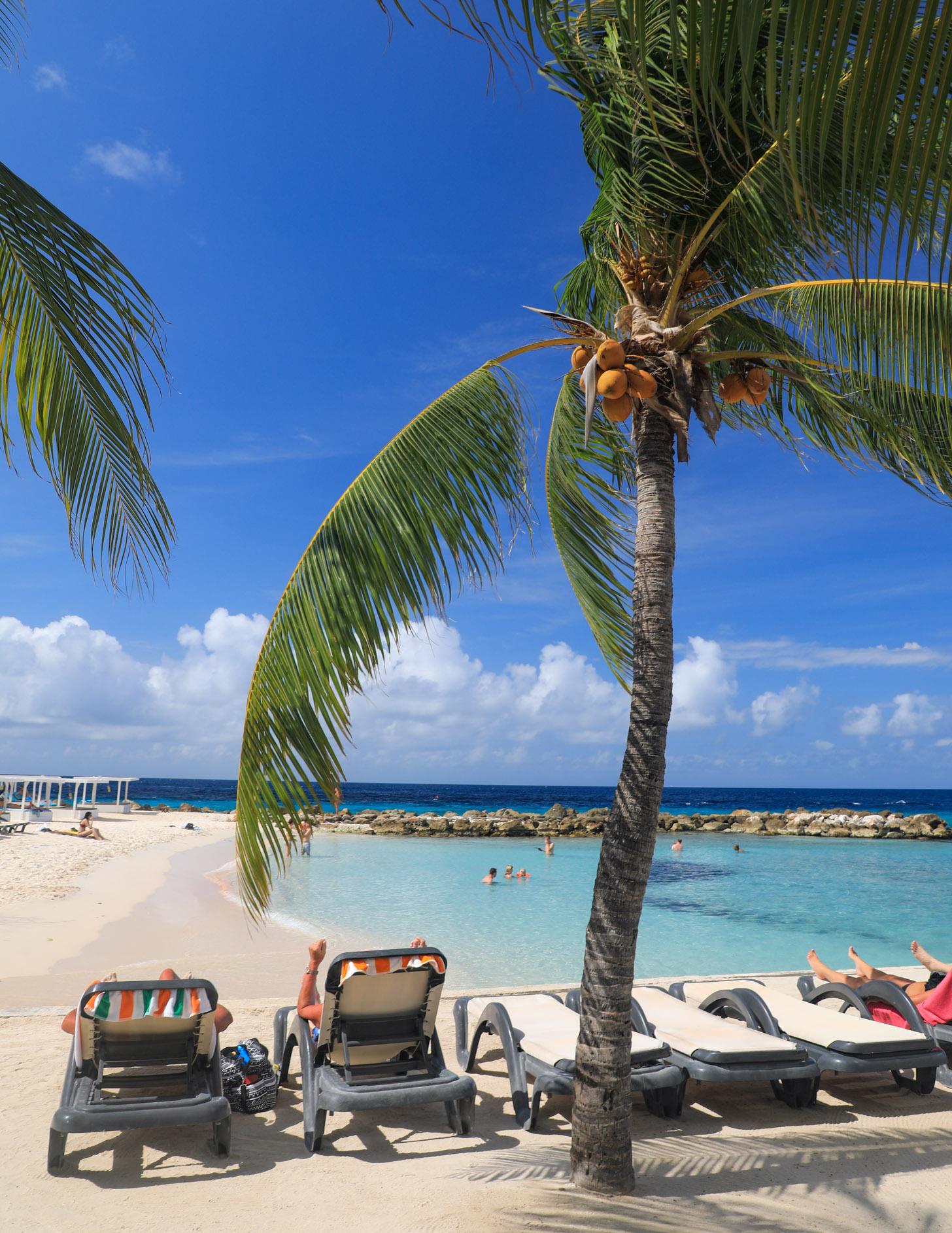 Heerlijk ontspannen tijdens je vakantie op Curacao.